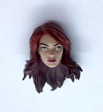 Marvel Legends Mary Jane Watson Head Custom Fodder TRU Exclusive Spider-Man