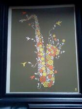 2012 DAVE MATTHEWS BAND FLOWER SAX  GREEK POSTER ART PRINT