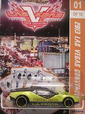 LaFasta Custom Hot Wheels 2013 Las Vegas Convention Limited Edition 1 of 10 Made