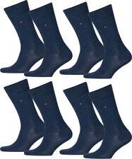 8 Paar Tommy Hilfiger Herren Socken Strümpfe klassisch 43-46 jeansblau
