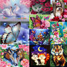 DIY 5D Diamond Painting Animal Embroidery Cross Crafts Stitch Kit Home Decor