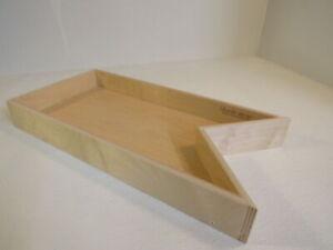 ShelfGenie Slideout Cabinet Shelf 23-5/8in L x 11-1/2in W x 3in H Birch Plywood