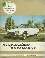 REVUE TECHNIQUE - EXPERT AUTOMOBILE  -  CITROËN GS 1973