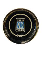 New 55 mm Chrome Steering Wheel Horn Button Race Rally Drift Street