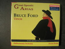 GREAT OPERATIC ARIAS - BRUCE FORD, TENOR - 1 CD Opera in English CHAN 3006