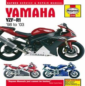 HAYNES SERVICE REPAIR MANUAL YAMAHA YZF-R1 1998 1999 2000 2001 2002 2003 M3754