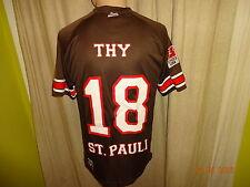 "FC St.Pauli DoYou Football Trikot 2012/13 ""Fernsehlotterie"" + Nr.18 Thy Gr.M TOP"