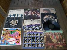 10 Beatles Collectable Lp record albums.Help,hard days night, etc   Free Post