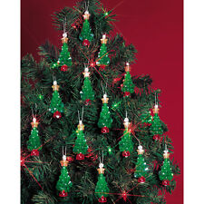Beadery Plastic Holiday Beaded Ornament Kit Mini Trees 2.25-inch Makes 24