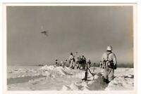 WW 2  < Orel Orjol > im Winter 1942 Panzer Propaganda Kompanie 693 -16