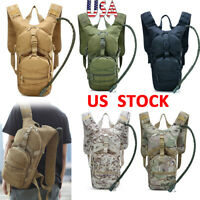 Water Bladder Bag Military Hiking Camping Hydration Backpack Pack