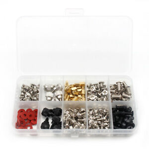 228PCS Computer Screw Standoffs Kit for Hard Drive Computer Case Motherboard