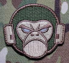 ANGRY MONKEY FACE LOGO TACTICAL COMBAT MILSPEC ARMY MORALE MULTICAM HOOK PATCH