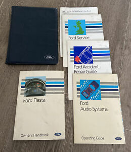 FORD FIESTA OWNERS MANUAL HANDBOOK FOLDER BOOK PACK XR2i RS TURBO Mk2 1989-1995