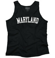 Maryland State Shirt Athletic Wear USA T Novelty Gift Ideas Tank Top Shirt