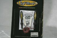 Coppia frecce led universali LIGHTECH Blinkers Flashers set NERE