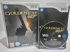 GoldenEye 007 (Wii, 2010) PAL Complete Brand New Case Great Condition Wii U 2520