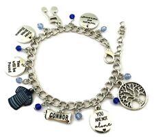 Dear Evan Hanson Broadway Musical Themed Silvertone Metal Charm Bracelet