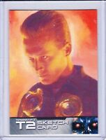Unstoppable Cards Terminator 2 Sketch Trading Card Selection