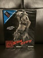 Sin City Steelbook w/poster  (Blu-ray, Germany) NEW & FACTORY SEALED