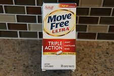 Schiff Move Free Joint Health Ultra Triple Action 30 Tablets. Exp 12/17