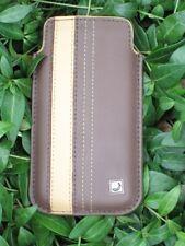 62 x IPhone 5 Tasche Cool Bananas Schutzhülle Leder chocolate ebony Post02