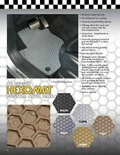 Hexomats All Weather Auto Mats w/OEM fasteners for Acura Integra 1986-2001