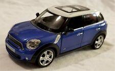"""RMZ City - 5"""" Scale Model Mini Cooper S Countryman Blue (BBUF555001BL)"""