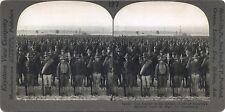 Scène de la Grande Guerre 14-18 WW1 Américains Stéréo Stereoview