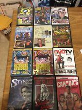 pro wrestling dvds