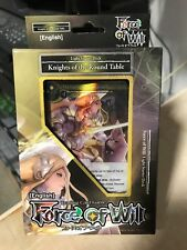 FORCE OF WILL FOW KNIGHTS OF THE ROUND TABLE STARTER DECK SEALED BRAND NEW
