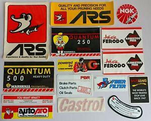 Bulk Automotive Stickers - ARS NGK Marshall Ferodo G-Force Finer Filter Castrol