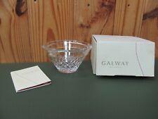 Galway Irish Crystal Cladcagh Claddagh Ring Twilight Votive Candle Holder