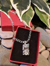Maneki Neko Lucky Fortune Cat Anklet Ankle Bracelet Handmade Silver Plated