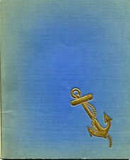 SS Richelieu & Clemenceau Dedication Booklet 1939 Campinchi