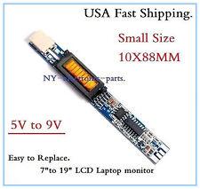 """(5V--9V INPUT) LAPTOP 7""""--19"""" LCD MONITOR UNIVERSAL INVERTER.10X88MM."""