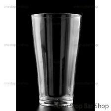 Schooner Beer Glass 425ml Polycarbonate Shatterproof Plastic Unbreakable Drink