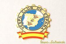 "VESPA IN METALLO-TARGHETTA ""VESPA Club de España"" - Club Spagna Spain emblema SMALTO"