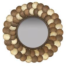 2635 - Capiz Shell Mirror
