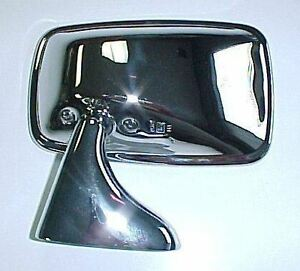 Austin-Healey Sprite MG Midget MGB Left Driver's Side Mirror Chrome NEW M68991