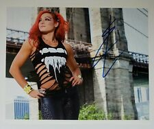 Becky Lynch signed photo , wwe