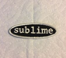 Vintage skateboard sublime patch punk music   vision NOS surf sticker Bradley