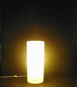 "Paul Mayen - Habitat Lighting Mid Century Table Top Lamp - VERY RARE 7"" x 17"""