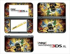 HAUT STICKER AUFKLEBER - NINTENDO NEW 3DS XL - REF 205 LEGO NINJAGO