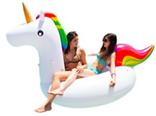 Freedom Floaty Luxury Giant Unicorn Inflatable Pool Float with Rapid Valves
