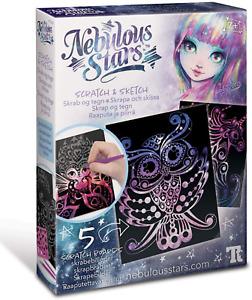 Nebulous Stars Scratch and Sketch Art Kit