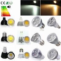 MR16/GU10/E27/E14 6W 9W 12W 15W LED COB Spotlight Downlight Spot Light Lamp Bulb