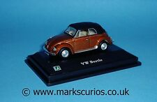 Cararama 1:72 - VW Beetle - Metallic Bronze