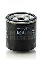 Ölfilter für Schmierung MANN-FILTER W 712/83