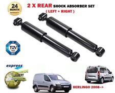 FOR CITROEN BERLINGO MPV + VAN 2008--> NEW 2 X REAR SHOCK ABSORBER SHOCKERS SET